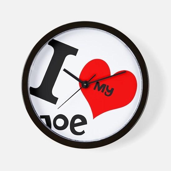 I <3 my Joe Wall Clock
