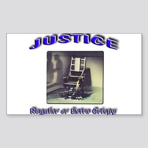 Justice Sticker (Rectangle)