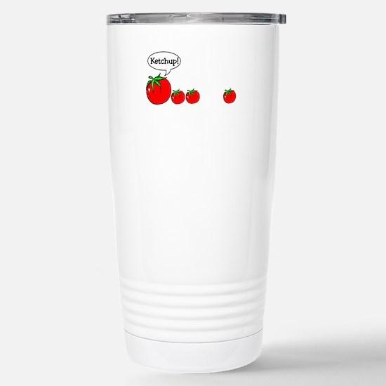 Ketchup! Stainless Steel Travel Mug