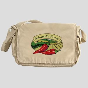 Salmonella Farms - Jalapeno P Canvas Messenger Bag