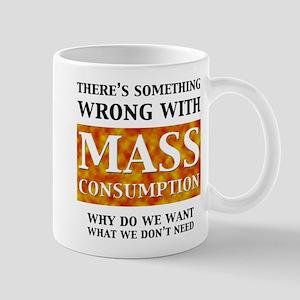 mass_white Mugs
