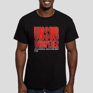 Unsub Whisperer Criminal Minds Men's Fitted T-Shir