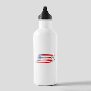 Athletics Runner - USA Stainless Water Bottle 1.0L