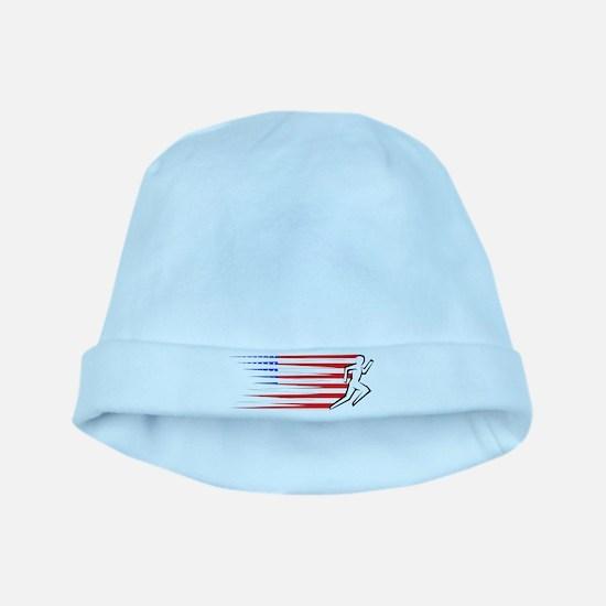 Athletics Runner - USA baby hat