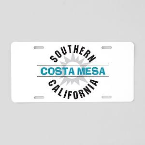 Costa Mesa California Aluminum License Plate