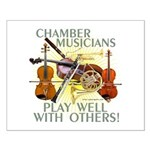 Chamber Musicians Small Poster