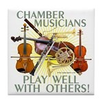 Chamber Musicians Tile Coaster