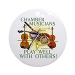 Chamber Musicians Ornament (Round)