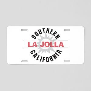 La Jolla Califronia Aluminum License Plate