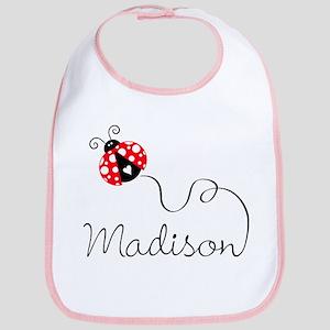 Ladybug Madison Bib