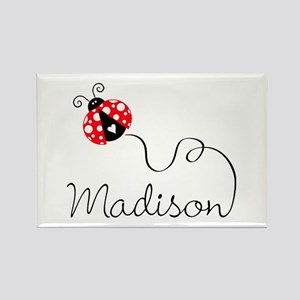 Ladybug Madison Rectangle Magnet