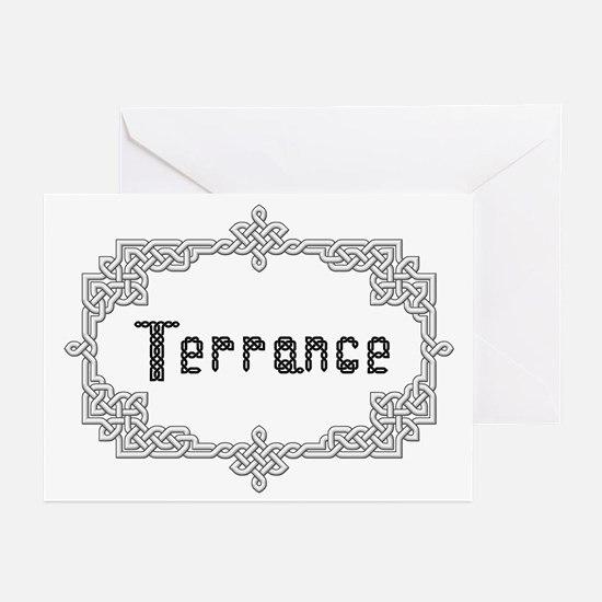 """""""Celtic Knots Terrance"""" Greeting Cards (Package of"""