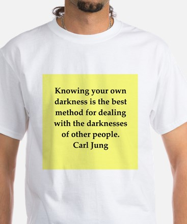 Carl Jung quotes White T-Shirt