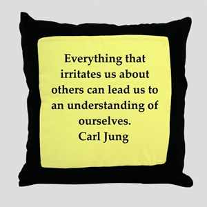 Carl Jung quotes Throw Pillow