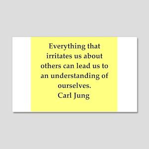 Carl Jung quotes 22x14 Wall Peel