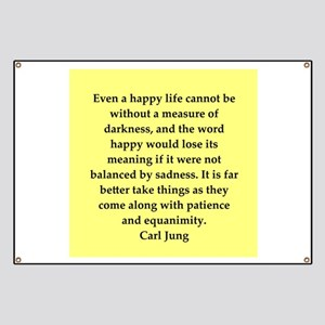Carl Jung quotes Banner