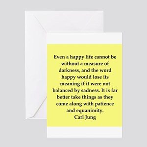 Psychiatrist greeting cards cafepress carl jung quotes greeting card m4hsunfo