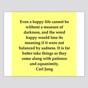 Carl Jung quotes Small Poster