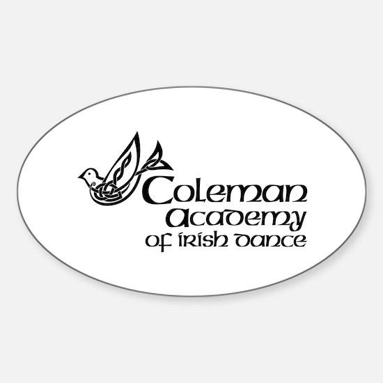 Unique Coleman Sticker (Oval)