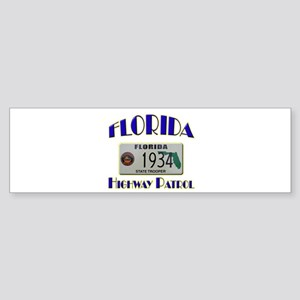 Florida Highway Patrol Sticker (Bumper)