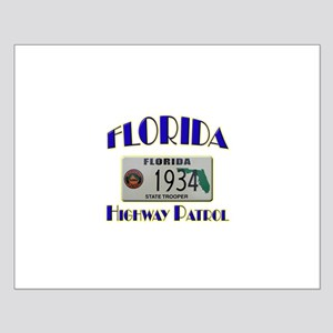 Florida Highway Patrol Small Poster