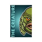 The Creature Rectangle Magnet