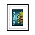 The Creature Framed Panel Print