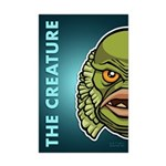 The Creature Mini Poster Print