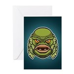 The Creature Greeting Card