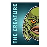 The Creature Postcards (Package of 8)