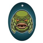 The Creature Ornament (Oval)