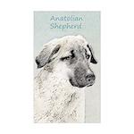 Anatolian Shepherd Sticker (Rectangle 10 pk)