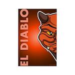El Diablo Rectangle Magnet (10 pack)