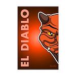 El Diablo Mini Poster Print