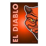 El Diablo Postcards (Package of 8)