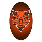 El Diablo Sticker (Oval)