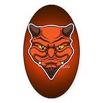 El Diablo Sticker (Oval 10 pk)