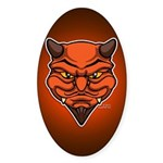 El Diablo Sticker (Oval 50 pk)