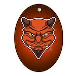 El Diablo Ornament (Oval)