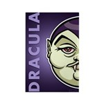 Dracula Rectangle Magnet