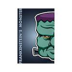 Frankenstein's Monster Rectangle Magnet