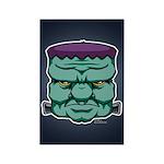 Frankenstein's Monster Rectangle Magnet (100 pack)