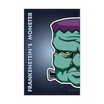 Frankenstein's Monster Mini Poster Print