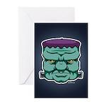 Frankenstein's Monster Greeting Cards (Pk of 20)