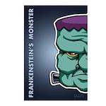 Frankenstein's Monster Postcards (Package of 8)