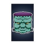 Frankenstein's Monster Sticker (Rectangle)