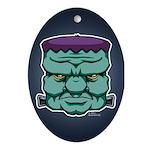 Frankenstein's Monster Ornament (Oval)