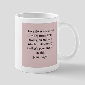 Jean Piaget quotes Mug