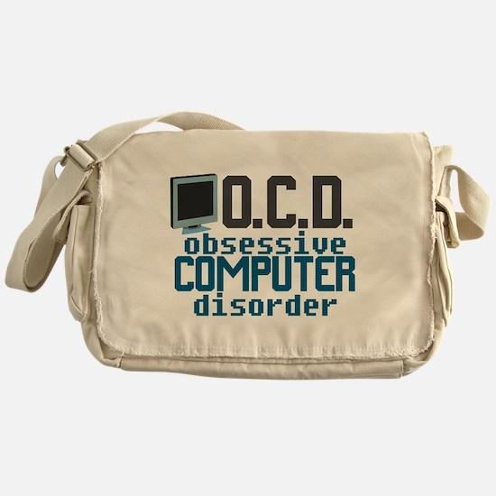 Funny Computer Messenger Bag