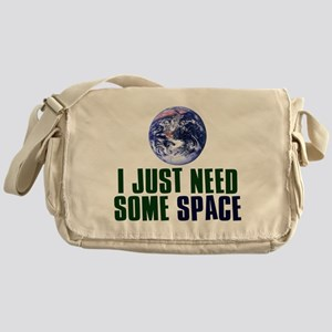 Astronaut Humor Messenger Bag